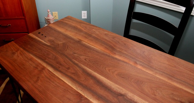 Image of walnut desk
