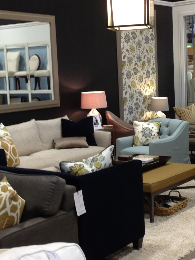 Image of the showroom at Gresham House furniture